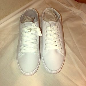 ASOS All-White Sneakers